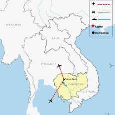 Siem Reap Tours Map 700pix