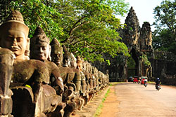 Angkor Temple in Cambodia
