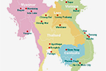 Indochina Map 150pix