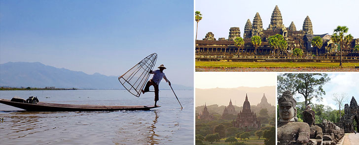 Cambodia & Myanmar Tour Package 2 Weeks Head Picture