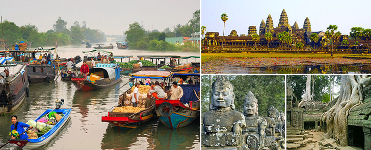 Vietnam & Cambodia Tour Package 4 Nights-5 Days - Head Pic