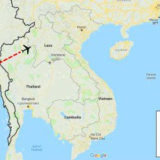 Myanmar Yangon City Tour 3 Days Itinerary Route (map)