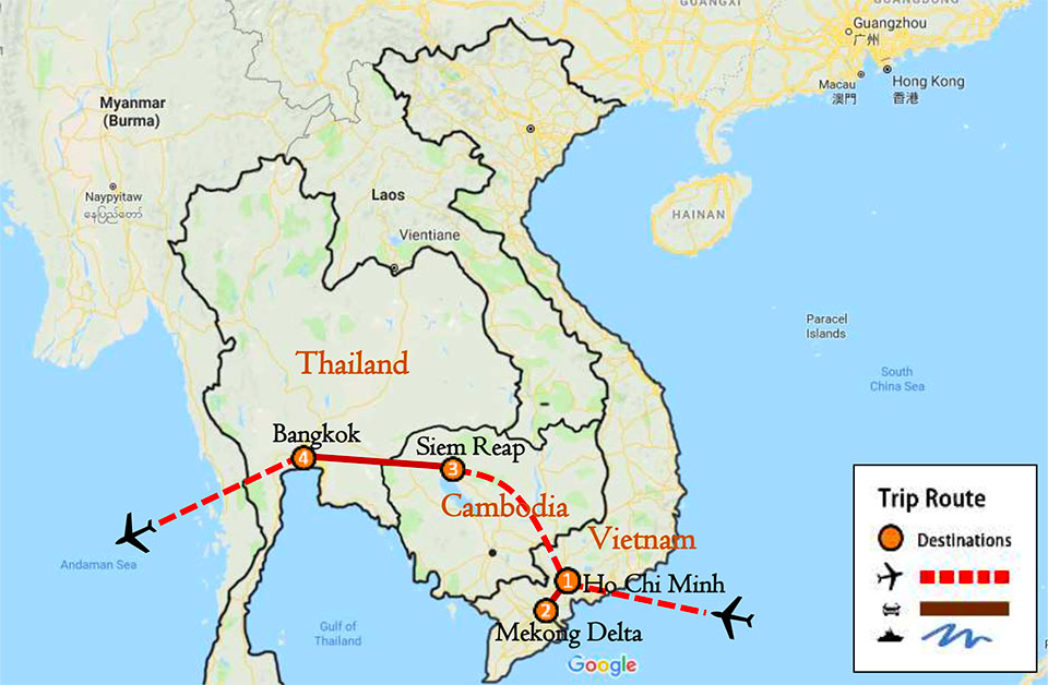 Vietnam Cambodia And Thailand Tour 10 Days Triple K Travel Co Ltd