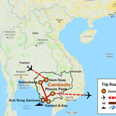 Cambodia Adventure & Southern Coast 11N-12D (MAP)