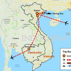 Hanoi and Siem Reap Tour (map)