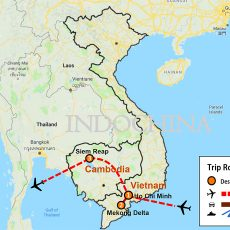 Ho Chi Minh & Siem Reap Tour (map)