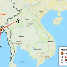 Myanmar Yangon City Tour 3 Days (map)