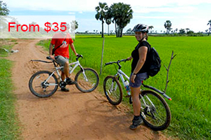 Cycling to Bakong Temple