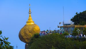 Pagoda Rock in Mon State